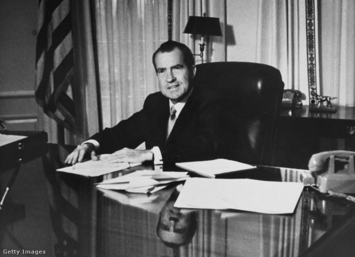 Richard Nixon 1969 januárjában