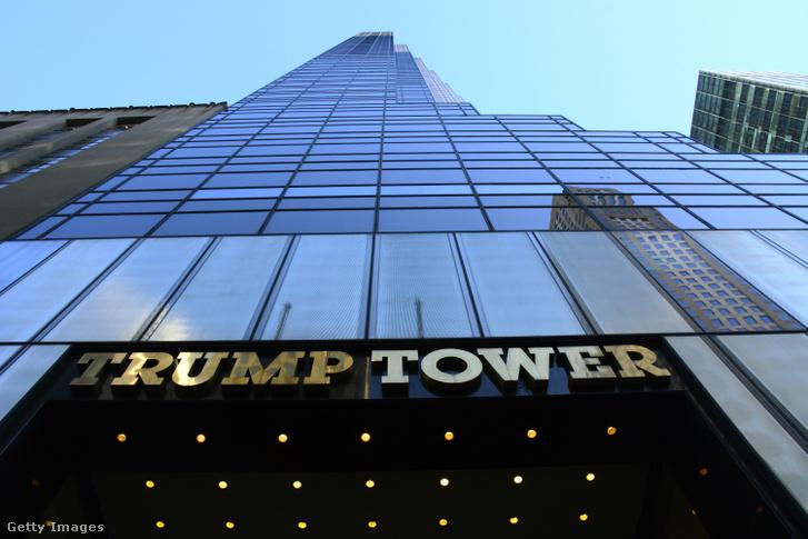 A Trump Tower New Yorkban 2017-ben
