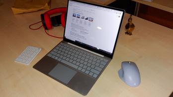Irodában, otthon és BKV-n is elővettük a Surface Laptop Gót