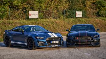 A pokol legmérgesebb kígyói: Shelby GT500 és GT350R