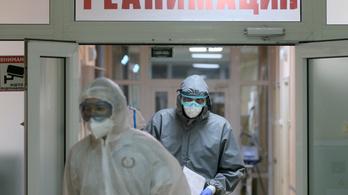 Új rekordot döntött Oroszországban a koronavírus