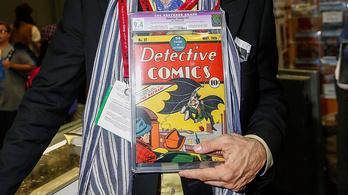 Félmilliárdot ér a legelső Batman-képregény 1939-ből