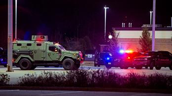 Lövöldözés Wisconsinban: 8 sebesült, az elkövető elmenekült