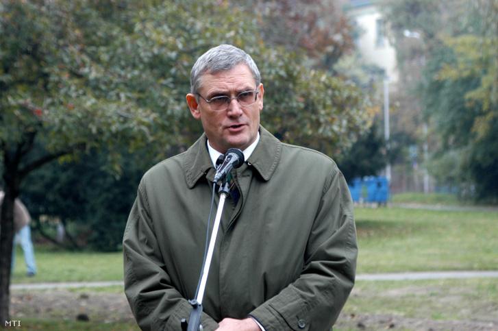 Balogh József még polgármesterként 2005-ben