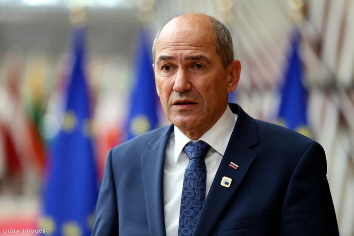 Janez Janša szlovén miniszterelnök