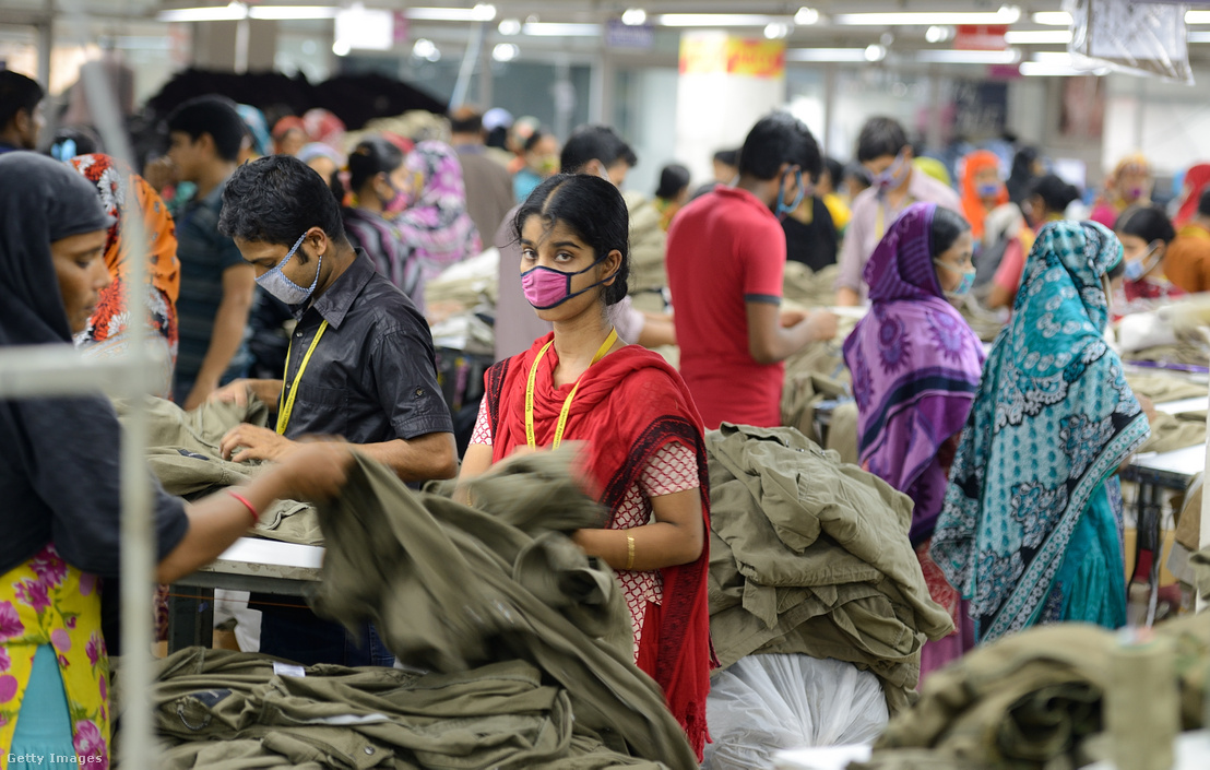 Textilüzem Bangladesben