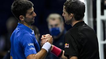 Thiem legyőzte Djokovicsot az ATP-világbajnokságon
