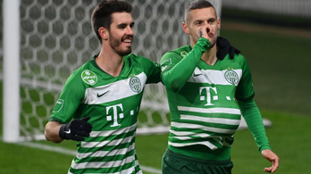 A Ferencváros a Budapest Honvédot is legyőzte
