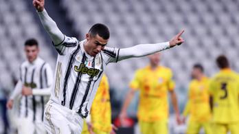 C. Ronaldo duplázott, a Juve győzelemmel hangolt a Fradi ellen
