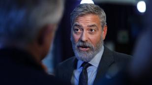 George Clooney-nak a gyűlöletről és a dühről Orbán Viktor jutott az eszébe