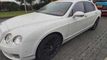 Újabb Nyugat-Európában lopott luxusautó akadt fent a magyar ellenőrzésen