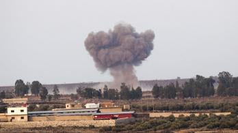 Szíriában legkevesebb tizennégyen haltak meg az izraeli légicsapásokban