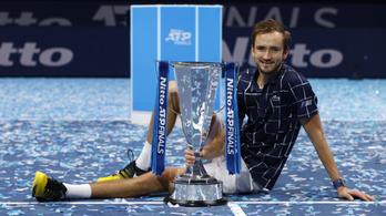 Danyiil Medvegyev nyerte meg az ATP-világbajnokságot