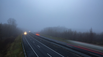 Ónos eső és köd: több megyére adtak ki figyelmeztetést
