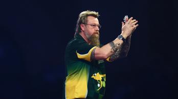 Rekordot jelentő 180-at dobott, legyőzte Michael van Gerwent
