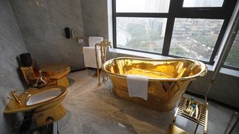 Vietnámban nyílt meg a világ első aranyhotele