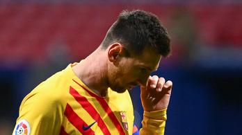 Lionel Messi kimaradt a Barcelona Kijevbe utazó keretéből