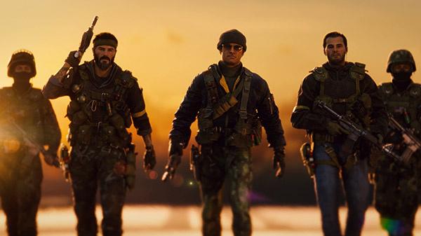"""""""Mert kell egy csapat"""": a CIA-ügynökök csapata a Call of Duty Black Ops Cold Warból (Forrás: Activision)"""