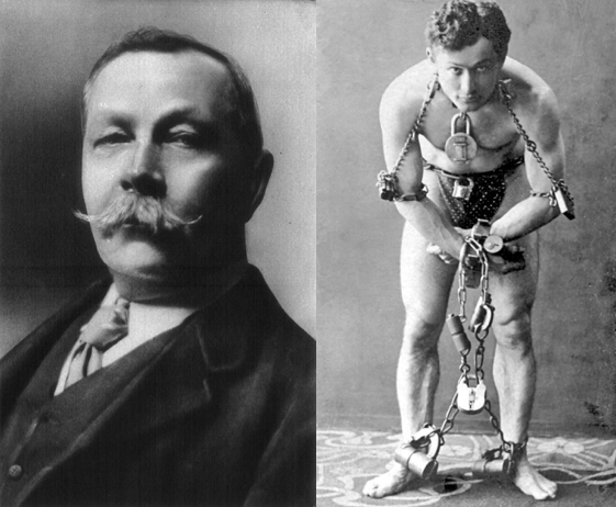 Sir Arthur Conan Doyle és Harry Houdini