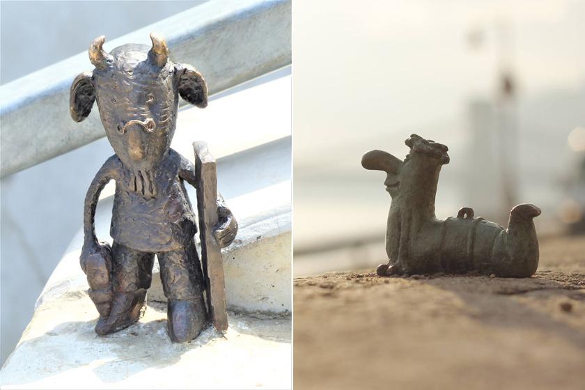Miniszobrok-kvíze: tudod, hol található Budapesten Mekk Elek szobra?