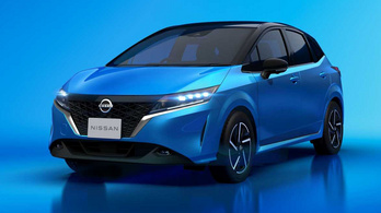 Így néz ki az új Nissan Note