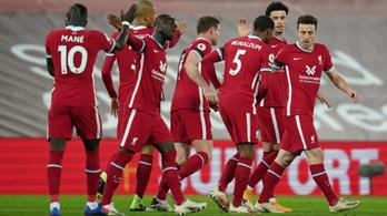 A Liverpool hazai szériája meg sem közelíti a Real Madridét
