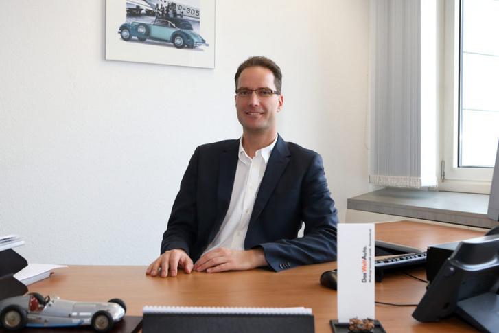 Frank György, a Das WeltAuto márkaigazgatója