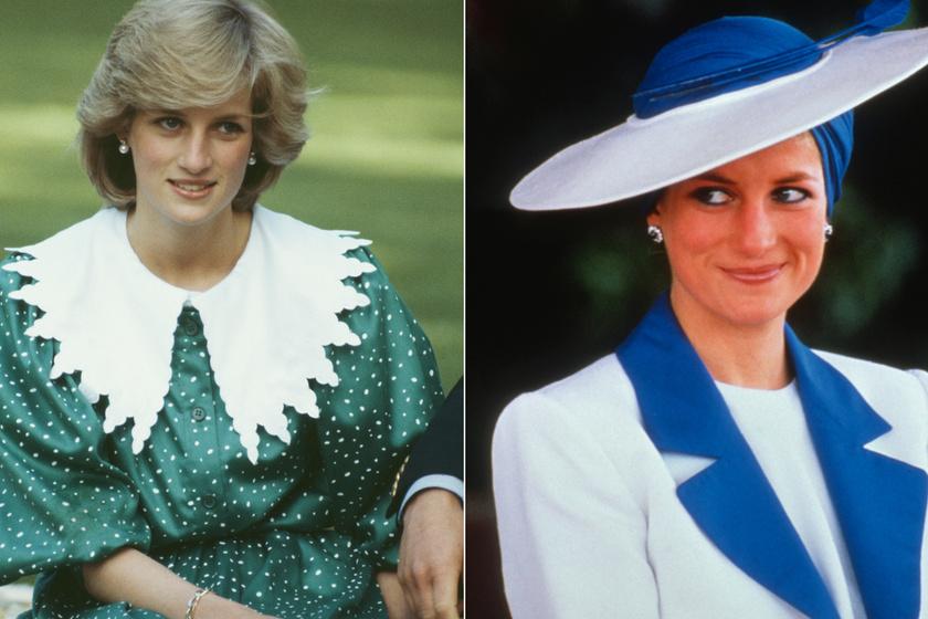 Diana hercegné alig ismert szettjei, amik megelőzték a korukat és divatot teremtettek