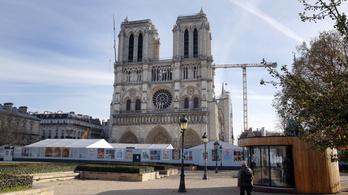 Notre-Dame: elhárult az omlásveszély