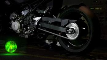 A Kawasaki padra tette a hibrid motorját