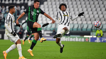 Bajnokok Ligája: Juventus–Ferencváros