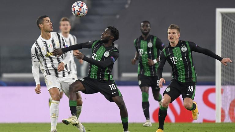 Vezetett Torinóban, de kikapott a Juventustól a Ferencváros