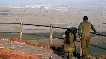 Ismét bombázott Szíriában Izrael