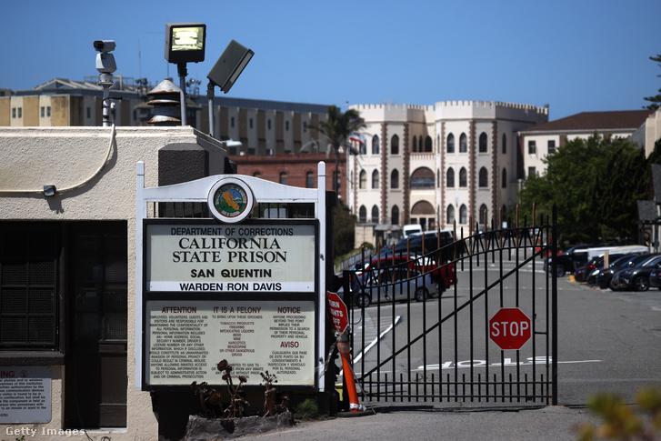 Képünk illusztráció! A San Quentin Állami Börtön Kaliforniában