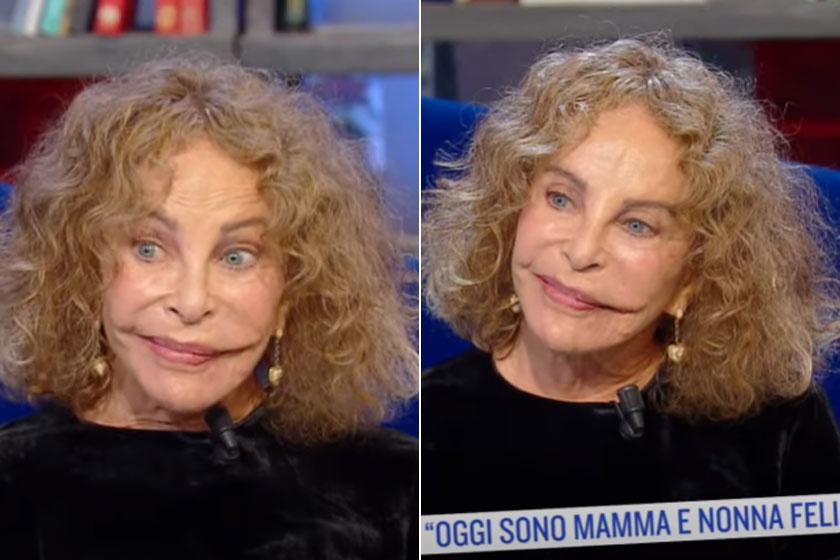 Sydne Rome a Rai Uno reggeli műsorának volt a vendége 2020 novemberében, így néz ki most a 69 éves sztár.