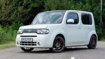 Használtteszt: Nissan Cube (Z12) 1.6 – 2010.