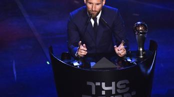 Messi és C. Ronaldo is jelölt az Év játékosa díjra
