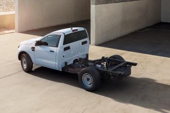 Már plató nélkül is megrendelhető a Ford Ranger