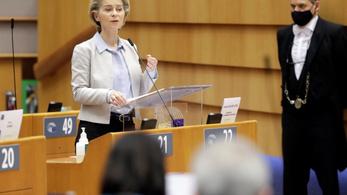 Ursula von der Leyen: Magyarországnak nem vétóznia kellene, hanem az uniós bírósághoz fordulnia