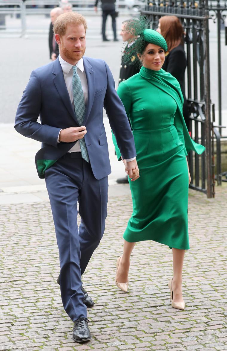 Harry herceg és Meghan Markle az egyik utolsó royal elfoglaltságukra igyekezve