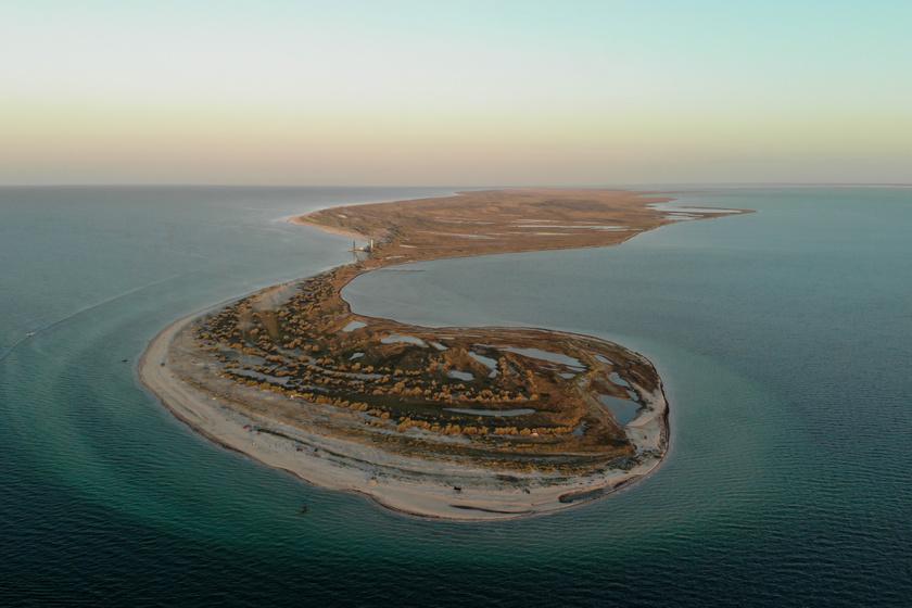 Ukrajna Maldívjaként emlegetik a Dzharylhach-szigetet: teljesen érintetlen az álomszép sziget