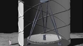 A Holdon épülne a végső teleszkóp