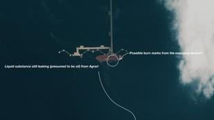 Terrortámadás ért egy olajtankert a Vörös-tengeren