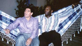 Pelé búcsúzik Maradonától: Remélem, egy nap együtt focizunk az égi focipályákon