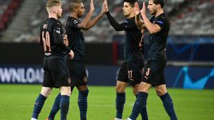 A Manchester Ciity is továbbjutott a Bajnokok Ligájában