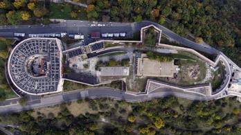 Régészeti ellenőrzés mellett folytatódik a Citadella felújítása