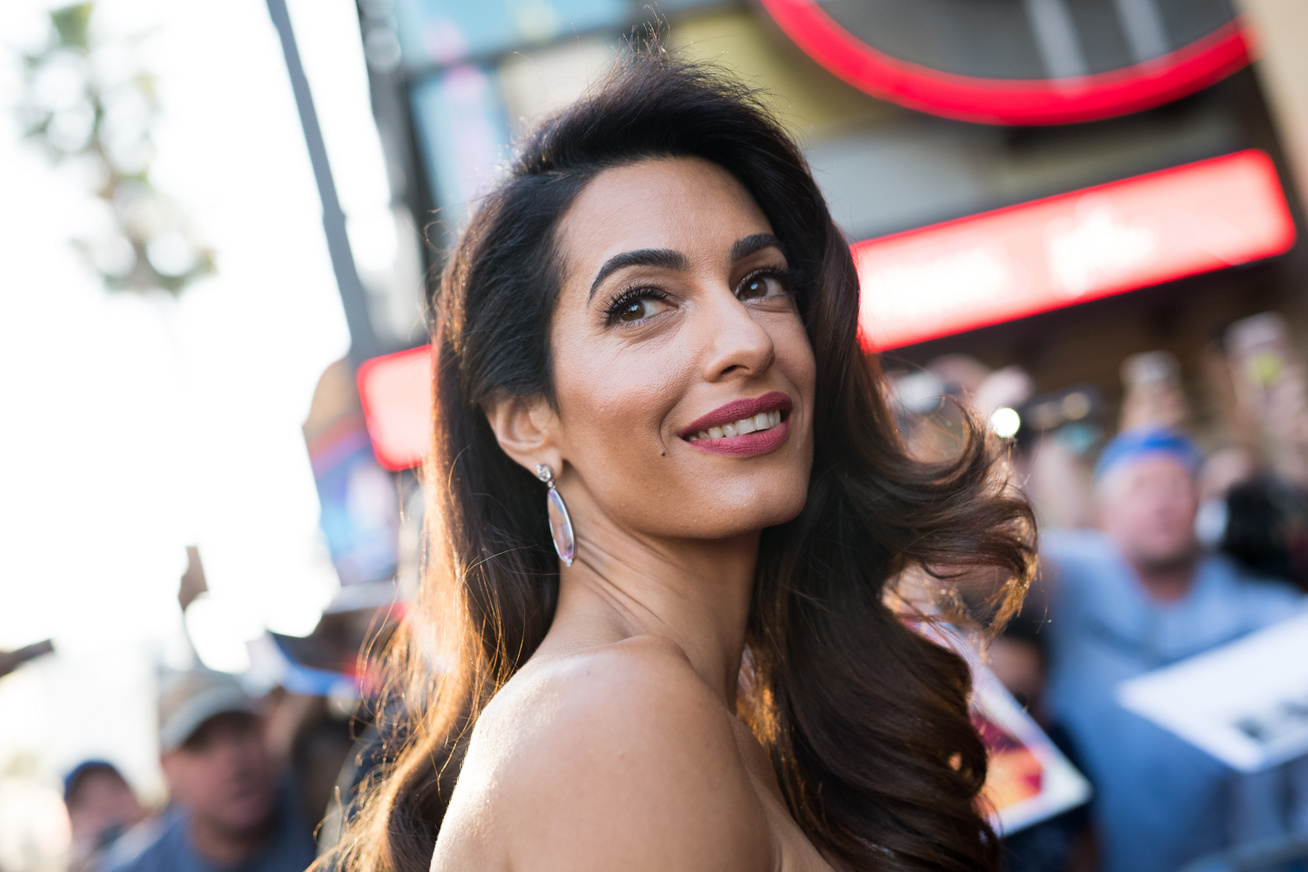 amal clooney cover