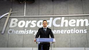 Több mint 12 milliárdos beruházást végez Kazincbarcikán a BorsodChem