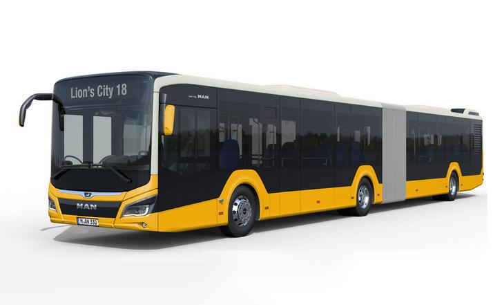 Nagyon jól nézne ki az új Lion's city, ha a Volánbusz mindkét (dinnyesárga, fehér) flottaszínét megkapná. Azonban az MAN nem a képen látható, új típussal indult