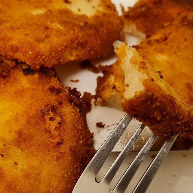 Aranybarna bundában sült zellertallérok - Van olyan finom, mint a sült krumpli